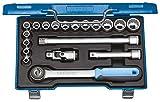Gedore D JMU-3 Steckschlüssel-Satz 1/2' 19-TLG UD 8-24 mm