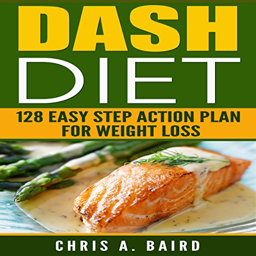 DASH Diet: audiobook cover art