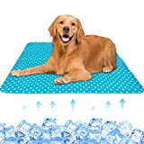 Dog Cooling Mat,Cooling pad,Cooling mat for Dogs ,Activated Gel Dog Cooling Mat, Durable Pet Self Cooling Mat Non-Toxic Gel Ice Pads,Keep Your Pet Cool, Use Indoors, Outdoors or in The Car(XL)
