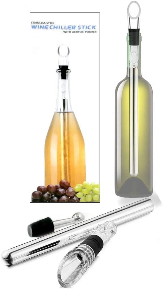 New item Wine Chilling Rod OFFicial site Stainless Steel Stick Chiller Aerat with