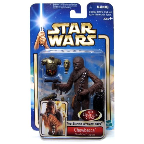 Star Wars – The Empire Strikes Back 84890 – Action Figur – Chewbacca (Cloud City Capture)