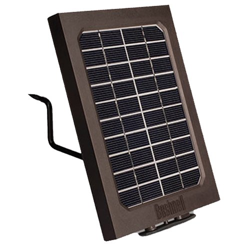 Bushnell 119756C Trophy Cam Aggressor Solar Panel Clam 5L,Brown