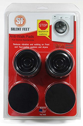 Anti-Walk Silent Feet - Anti-Vibration Washer and Dryer...