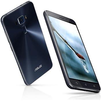 ASUS ZenFone 3 ZE520KL 4G/64G SIMフリー ブラック-Black 4G LTE (5.2inch/Full HD/Android 6.0/Qualcomm Snapdragon 625/2.0Ghz) [並行輸入品]