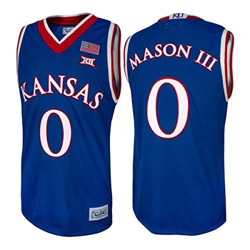 Kansas Jayhawks Frank Mason III #0 Retro Brand Authentic Basketball Jersey (L)