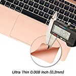 Palm Rest Cover Skin and Trackpad Protector Compatible with 2019 2018 MacBook Air 13-Inch Model A1932 with Touch Id… 12 Specially Design For 2016 2017 2018 2019 Released MacBook Pro 15 with touch bar model A1707 A1990 Prevent your new MacBook to avoid scratches by watch, buckles, jewelry and other metal objects Airflow Design, easy to uase with no bubble, renew the worn-out palm rest, It's a great way to update your worn-out palm rest with a different fresh new look