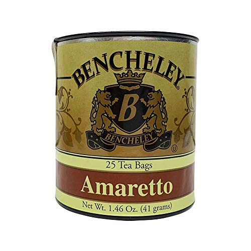 Bencheley Tea Bags, Amaretto, 25 count