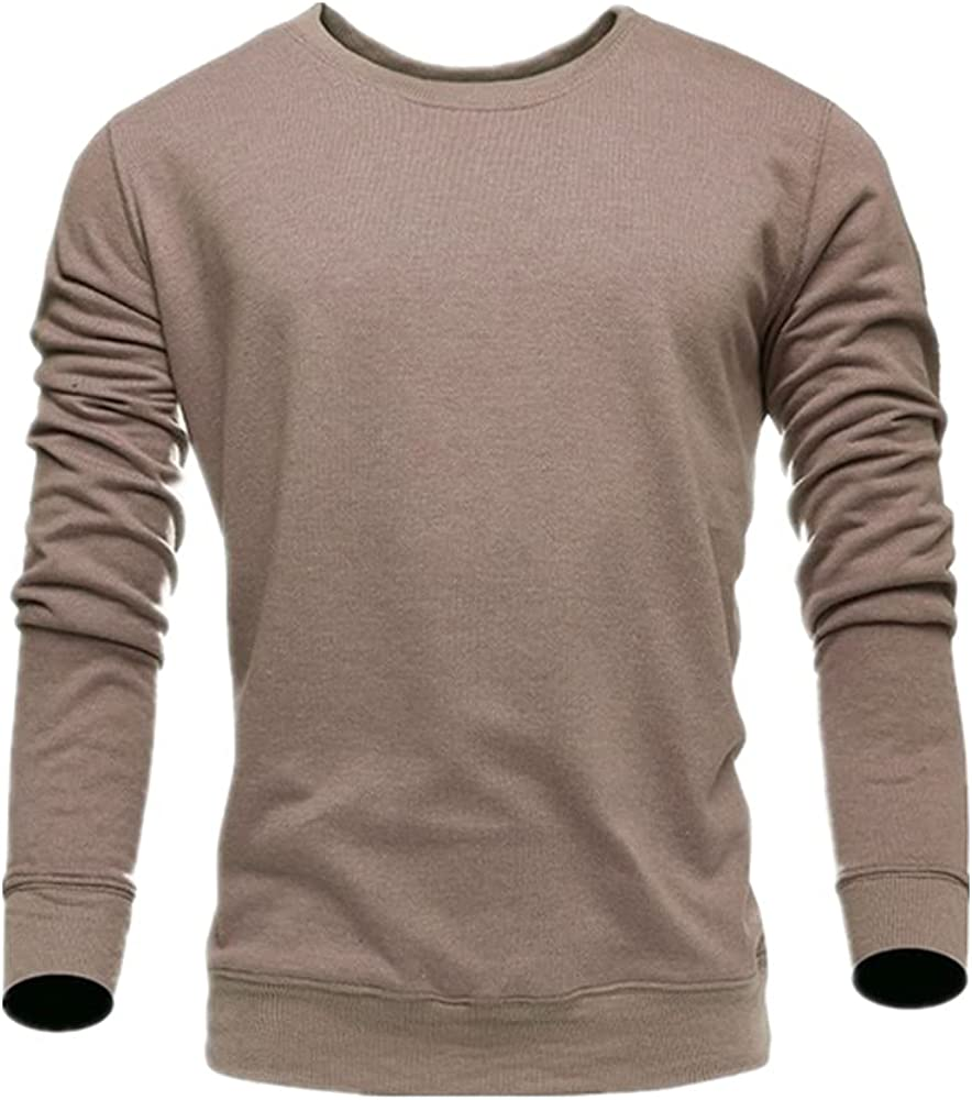 NP Color Sweater Men Cotton Long Sleeve Pullover Sweater