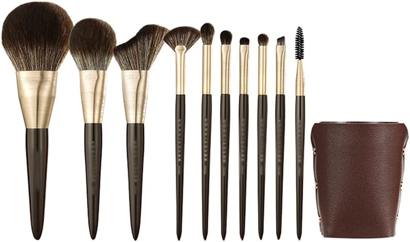 Manufacturer OFFicial shop CJSWT Makeup Year-end annual account Brushes Set 10 Pcs Extra Brush with Travel