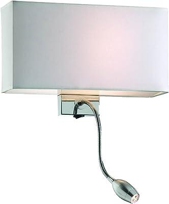 Evergreen Lights Lampe murale 60W, Blanc