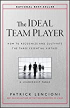 Cover image of The Ideal Team Player by Patrick M. Lencioni