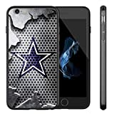 Cowboys iPhone 6S Case,iPhone 6 Cowboys Design Case TPU Gel Rubber Shockproof Anti-Scratch Cover Shell for iPhone 6S / iPhone 6 4.7-inch