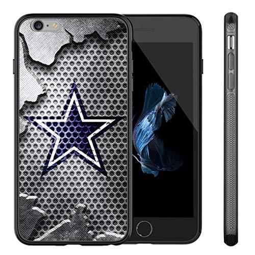 Cowboys iPhone 6s Plus Case iPhone 6 Plus Cowboys Design Case TPU Gel Rubber Shockproof Anti-Scratch Cover Shell for iPhone 6s Plus/iPhone 6 Plus 5.5-inch