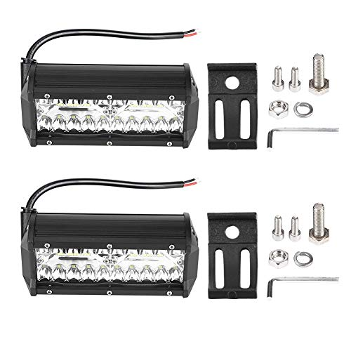 Broco 2 stuks 120 W LED Light Work Bar Flood Combo koplamp mistlampen waterdicht voor offroad MTB