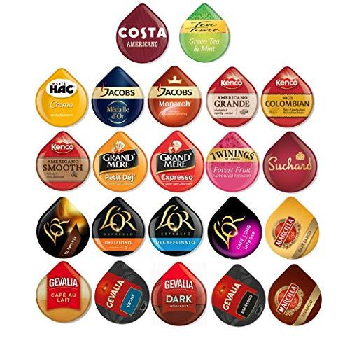 22 Tassimo T Discs Pods Variety Pack