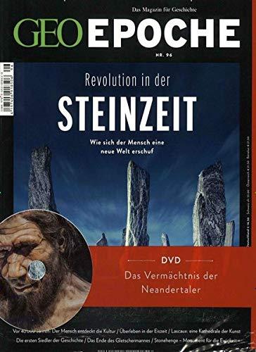 GEO Epoche mit DVD 96/2019 - Revolution in der Steinzeit: DVD: Das Vermächtnis der Neandertaler