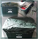 RECYCLING BOX/BIN /3X COVERS FOR COUNCIL RECYCLE BOX - GREEN(BOX NOT INC)