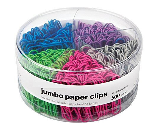 Our #6 Pick is the InTheOffice Jumbo Paper Clips