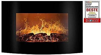 Bomann EK 6021 CB Wall-mountable Fireplace Eléctrico Negro Interior - Chimenea (220-240 V, 50 Hz)