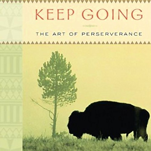 Keep Going audiobook cover art