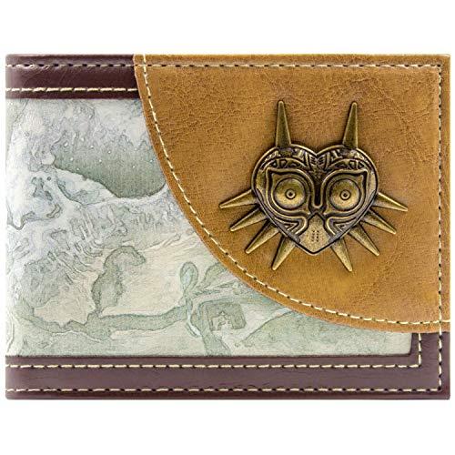 Cartera de Nintendo Zelda Majora`s Mask marrón