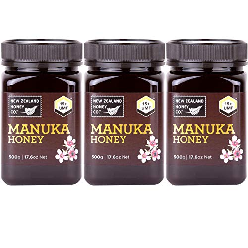 New Zealand Honey Co. Manuka Honey UMF 15+ / MGO 514+| 3 x Value Pack (17.6oz)