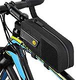 Funien 自転車用サドルバッグ、自転車用サドルバッグMTBロード自転車バッグ反射パニアサイクリングアクセサリー