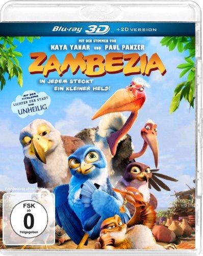 Zambezia - In jedem steckt ein kleiner Held! [3D Blu-ray]
