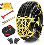 Best Snow Chains - OneV FT Car Snow Chains, 6 Pieces Universal Review