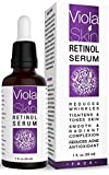 𝗣𝗥𝗘𝗠𝗜𝗨𝗠 Retinol Serum For Face with Hyaluronic Acid & Vitamin E, Anti Aging...