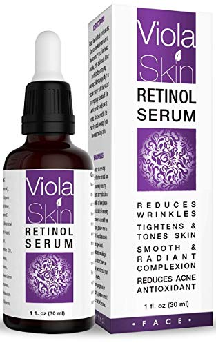 PREMIUM Retinol Serum For Face Neck Eyes with Hyaluronic Acid. 8X More Effective, Anti Ageing Retinol Serum for Acne Treatment, Wrinkles, Fine Lines & Sensitive Skin, Hydrate & Brighten your look! 100% Satisfaction