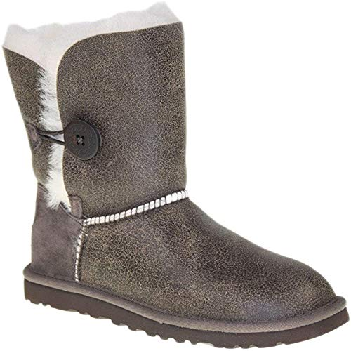 UGG - Boot BAILEY BUTTON BOMBER - BJCN (choco), Taille:41