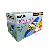 花王 MF2HD DSV K40PNK DOS/V用2HD 紙パック40枚入り