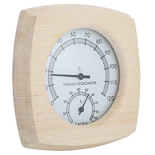 Termoigrometro per legno Termometro Igrometro per bagno Accessori per sauna Termometri per interni