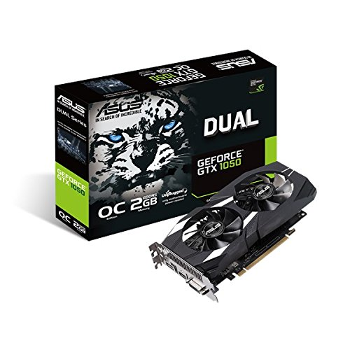 ASUS GeForce GTX 1050 OC Edition GeForce GTX 1050 2GB GDDR5 - Tarjeta gráfica (GeForce