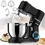 Vospeed Stand Mixer, 7.5 QT 660W 6-Speed Tilt-Head Food Mixer Kitchen Electric Mixer with Stainless...