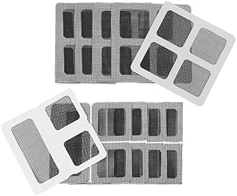 20pcs Door or Window Screen Repair Kit Patches Strongly Adhesive and Waterproof Fiberglass Material product image