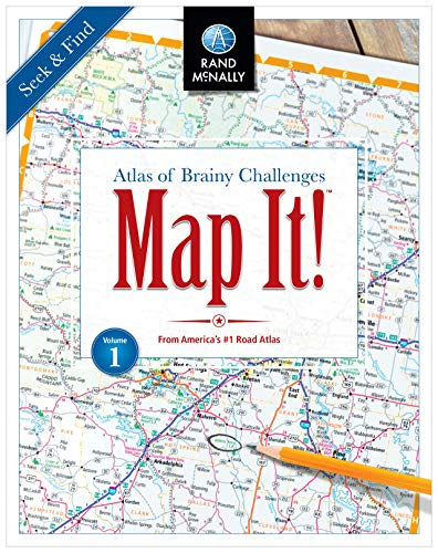Map It! Seek & Find Atlas of Brainy Challenges