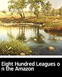 Illustrated Eight Hundred Leagues on the Amazon: 100 classic novels (English Edition)