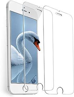 شاشة حماية من الزجاج المقوي لموبايل ايفون 8 و7 و6S و6 [4.7 بوصة] 2.5 دي ايدج
