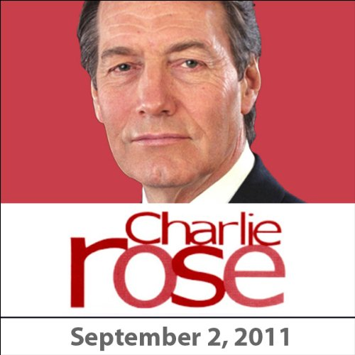 Charlie Rose: Zach Galifianakis, Steve Martin, Robert Duvall, and Jean Pigozzi, September 2, 2011 cover art