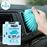 Cleaning Gel for Car Detailing Putty Car Vent Cleaner Goo Cleaning Putty Gel Auto Detailing Tools Car Interior Cleaner Dust Cleaning Mud for Cars Dust Cleaner Slime Keyboard Cleaner Gel (3Pack)