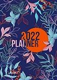 2022: Agenda Settimanale   Formato A5 Tascabile   1 Settimana Su 2 Pagine   12 Mesi Planner   Design Semplice   Diario Caledario Appuntamenti Agenda Giornaliera   Floreale