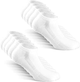 comprar comparacion TUUHAW Calcetines de Deporte Mujer Hombre 10 pares Medio Cortos Calcetin Zapatilla Transpirable