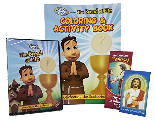 Brother Francis The Bread of Life DVD, Coloring & Activity Book, Free Jesus' Grace Bookmark, & Jesus is the Bread of Life Prayer Card, Roman Catholic ... Churches, Children's Songs, Catholic answers