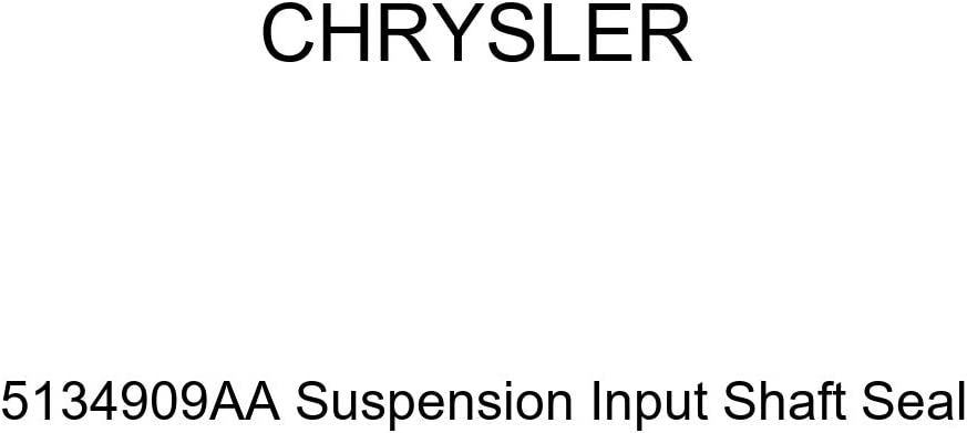 Genuine Clearance SALE Limited time Chrysler 5134909AA Suspension Shaft Max 87% OFF Seal Input