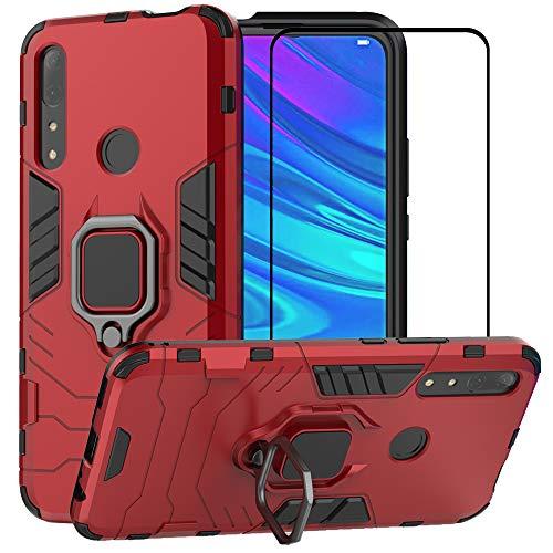 BestMX Funda para Huawei P Smart Z /Y9 Prime 2019 Case Protector de Pantalla de Cristal Templado,…