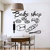 Mhdxmp BoutiqueStickers Muraux Boulangerie Cuisine Café Enseigne Pain...