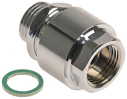 Electrolux Rohrbelüfter für Spülmaschine 531021, 531131, 531242, 531241, 531232 Ausgang 1/2' Eingang 1/2' DVGW DVGW Zulassung