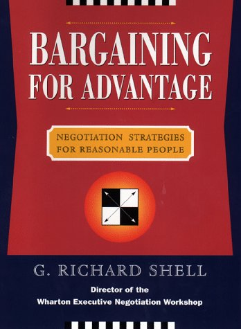 Image OfBargaining For Advantage: Negotiation Strategies For Reasonable People: Effective Negotiation